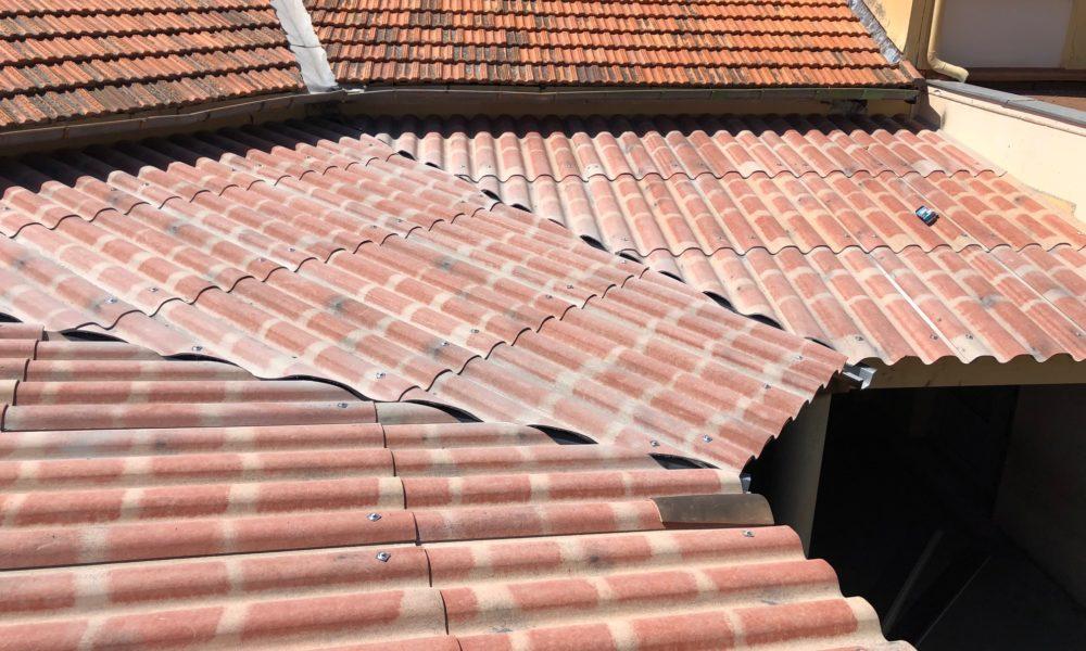 Réfection toiture école
